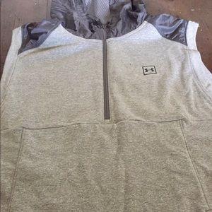 Under armor sleeveless hoodie
